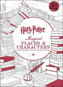 Harry Potter Magical Places & Characters Postcard Coloring Book av Scholastic (Bok uspesifisert)