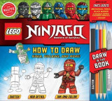 Omslag - LEGO NINJAGO: How to Draw Ninja, Villains and More