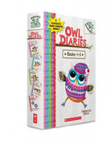 Omslag - Owl Diaries, Books 1-5: A Branches Box Set