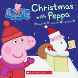 Omslag - Christmas with Peppa (Peppa Pig: Board Book)