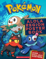 Omslag - Pokemon: Alola Region Poster Book