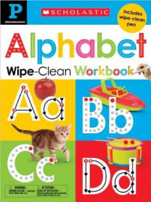 Wipe-Clean Workbook: Pre-K Alphabet(scholastic Early Learners) av Scholastic (Innbundet)