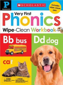 Wipe Clean Workbook: Pre-K My Very First Phonics (Scholastic Early Learners) av Scholastic (Innbundet)