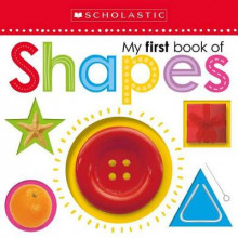 My First Book of Shapes av Scholastic (Pappbok)