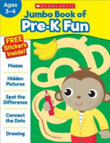 Omslag - Jumbo Book of Pre-K Fun Workbook