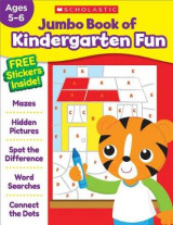 Omslag - Jumbo Book of Kindergarten Fun Workbook