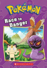 Omslag - Race to Danger (Pokemon: Chapter Book)