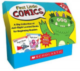 Omslag - First Little Comics Classroom Set: Levels A & B
