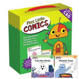 Omslag - First Little Comics Parent Pack: Levels C & D