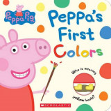 Omslag - Peppa's First Colors (Peppa Pig)