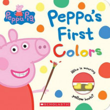 Peppa's First Colors (Peppa Pig) av Scholastic (Pappbok)