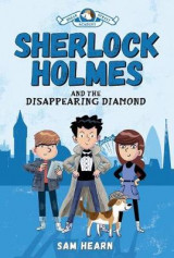 Omslag - Sherlock Holmes and the Disappearing Diamond