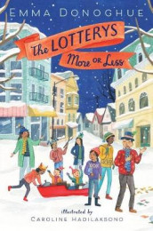 The Lotterys More or Less av Emma Donoghue (Innbundet)
