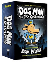 Omslag - Dog Man 1-3: The Epic Collection