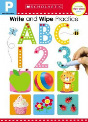 Write and Wipe Practice Flip Book: ABC 123 (Scholastic Early Learners) av Scholastic Early Learners og Scholastic (Innbundet)