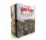 Omslag - Harry Potter: The Illustrated Collection