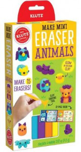 Omslag - Klutz: Make Mini Eraser Animals