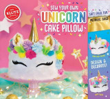 Omslag - Sew Your Own Unicorn Cake Pillow