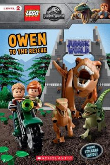 Owen to the Rescue (Lego Jurassic World: Reader with Stickers av Scholastic og Meredith Rusu (Heftet)