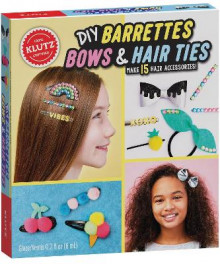 DIY Barrettes, Bows and Hair Ties av Editors of Klutz (Blandet mediaprodukt)