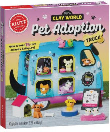 Mini Clay World Pet Adoption Truck av Editors of Klutz (Blandet mediaprodukt)