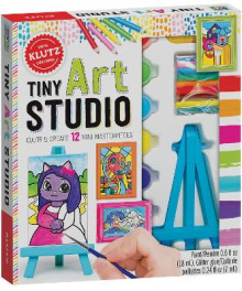 Tiny Art Studio av Editors of Klutz (Blandet mediaprodukt)