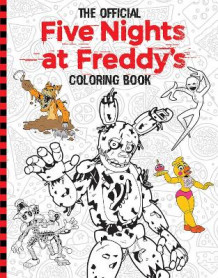 Official Five Nights at Freddy's Coloring Book av Scott Cawthon (Heftet)