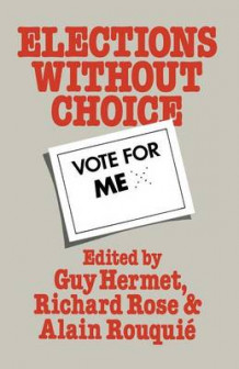 Elections Without Choice 1978 av G. Hermet (Heftet)