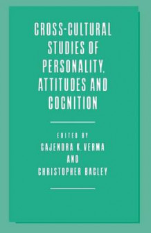 Cross-Cultural Studies of Personality, Attitudes and Cognition 1988 (Heftet)
