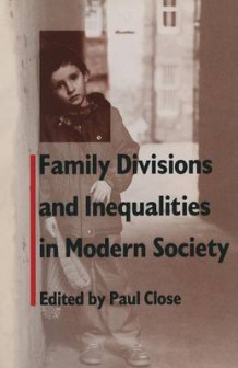 Family Divisions and Inequalities in Modern Society 1989 av Paul Close (Heftet)