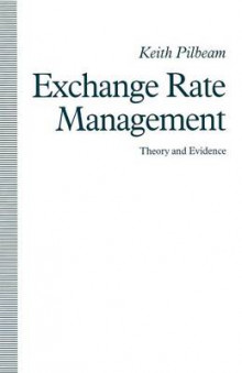 Exchange Rate Management: Theory and Evidence 1991 av Keith Pilbeam (Heftet)
