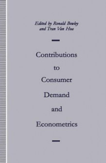 Contributions to Consumer Demand and Econometrics 1992 av Ronald Bewley (Heftet)