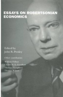 Essays on Robertsonian Economics 1992 (Heftet)