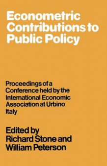 Econometric Contributions to Public Policy av William Peterson (Heftet)