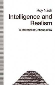 Intelligence and Realism 1990 av Roy Nash (Heftet)