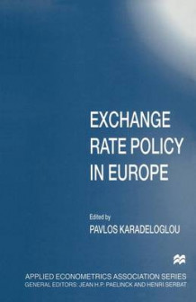 Exchange Rate Policy in Europe 1997 (Heftet)