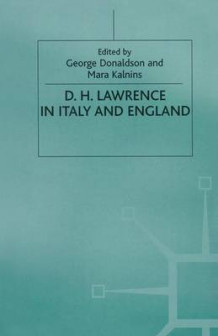 D. H. Lawrence in Italy and England 1999 (Heftet)
