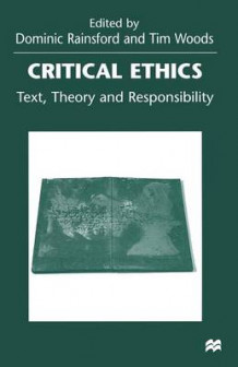 Critical Ethics (Heftet)