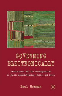 Governing Electronically 2010 av Paul Henman (Heftet)