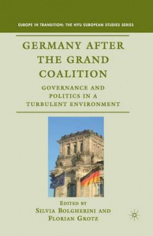 Germany After the Grand Coalition 2010 (Heftet)