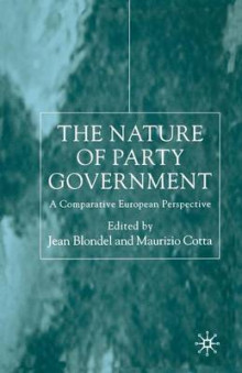 The Nature of Party Government 2000 av Jean Blondel (Heftet)