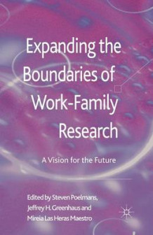 Expanding the Boundaries of Work-Family Research 2013 (Heftet)