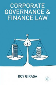 Corporate Governance and Finance Law av Roy J. Girasa (Heftet)