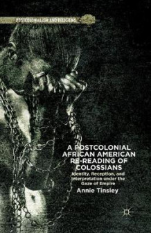 A Postcolonial African American Re-Reading of Colossians 2013 av Annie Tinsley (Heftet)