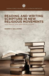 Omslag - Reading and Writing Scripture in New Religious Movements 2014