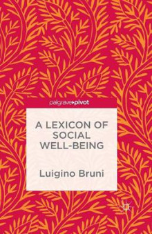 A Lexicon of Social Well-Being av Na Na og Luigino Bruni (Heftet)