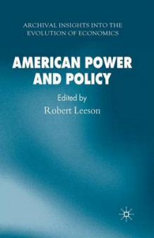 American Power and Policy (Heftet)