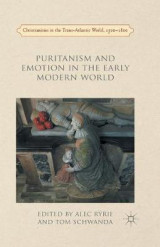Omslag - Puritanism and Emotion in the Early Modern World