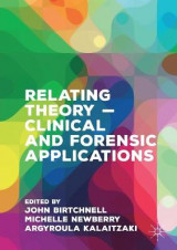 Omslag - Relating Theory - Clinical and Forensic Applications