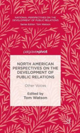 Omslag - North American Perspectives on the Development of Public Relations 2016